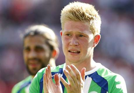 De Bruyne direction Manchester City