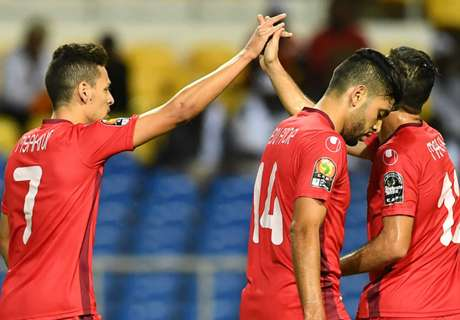 Tunisia advance in AFCON
