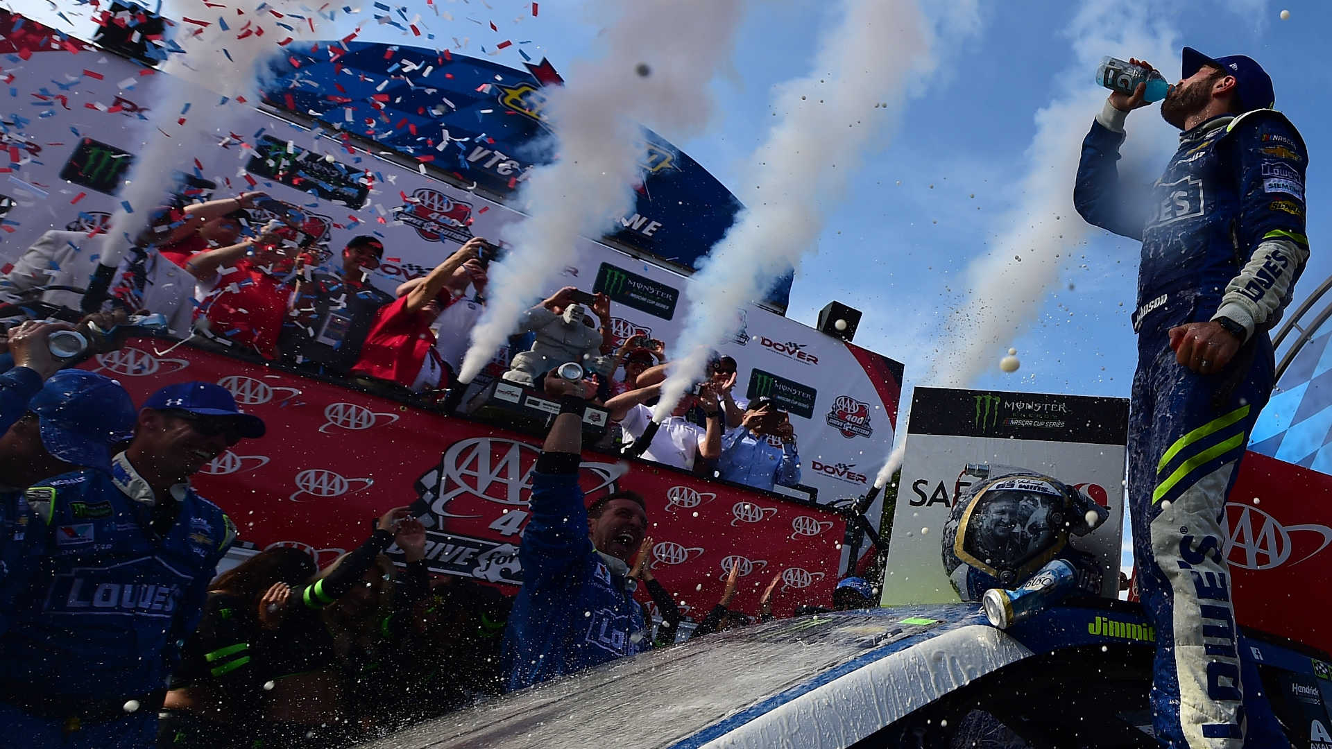 Jimmie Johnson Wins Race, Then Undergoes Cancer Surgery
