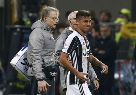 Juve confirms Dybala thigh injury
