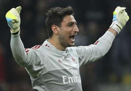 Donnarumma earns Italy call-up