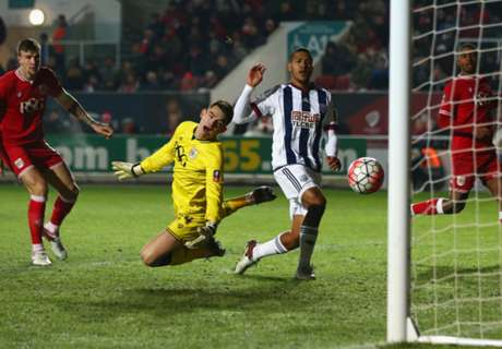 Bristol City 0-1 West Brom: Rondon goal
