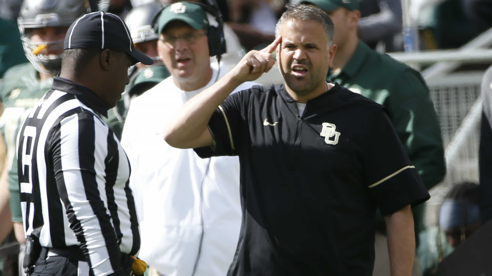 Baylor suspends two players investigated for alleged November sexual assault