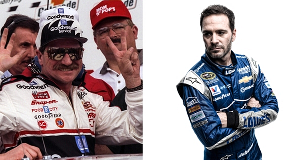 Dale Earnhardt Sr., Jimmie Johnson