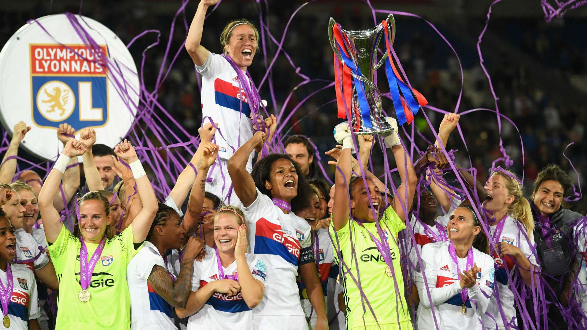 Lyon keeper nets shootout winner to secure women's Champions League trophy