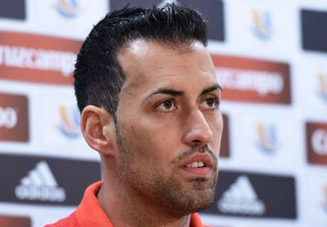 Busquets takes blame for Barca loss