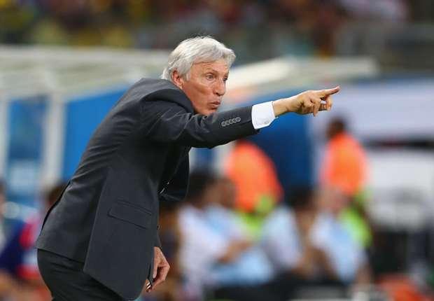 Pekerman targets goals against Brazil