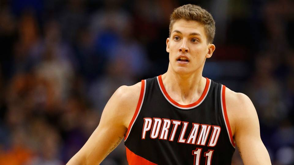 24956c1a7 Meyers Leonard is a young American basketball center for the Portland Trail  Blazers. Growing up in a loving family but blighted by life ills from an  early ...
