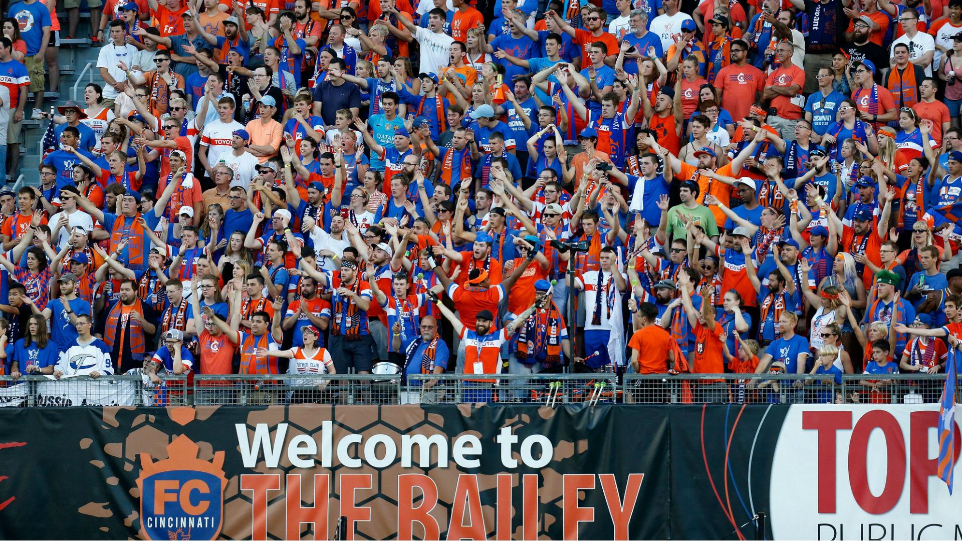 Cincinnati awarded MLS franchise, will begin play in 2019