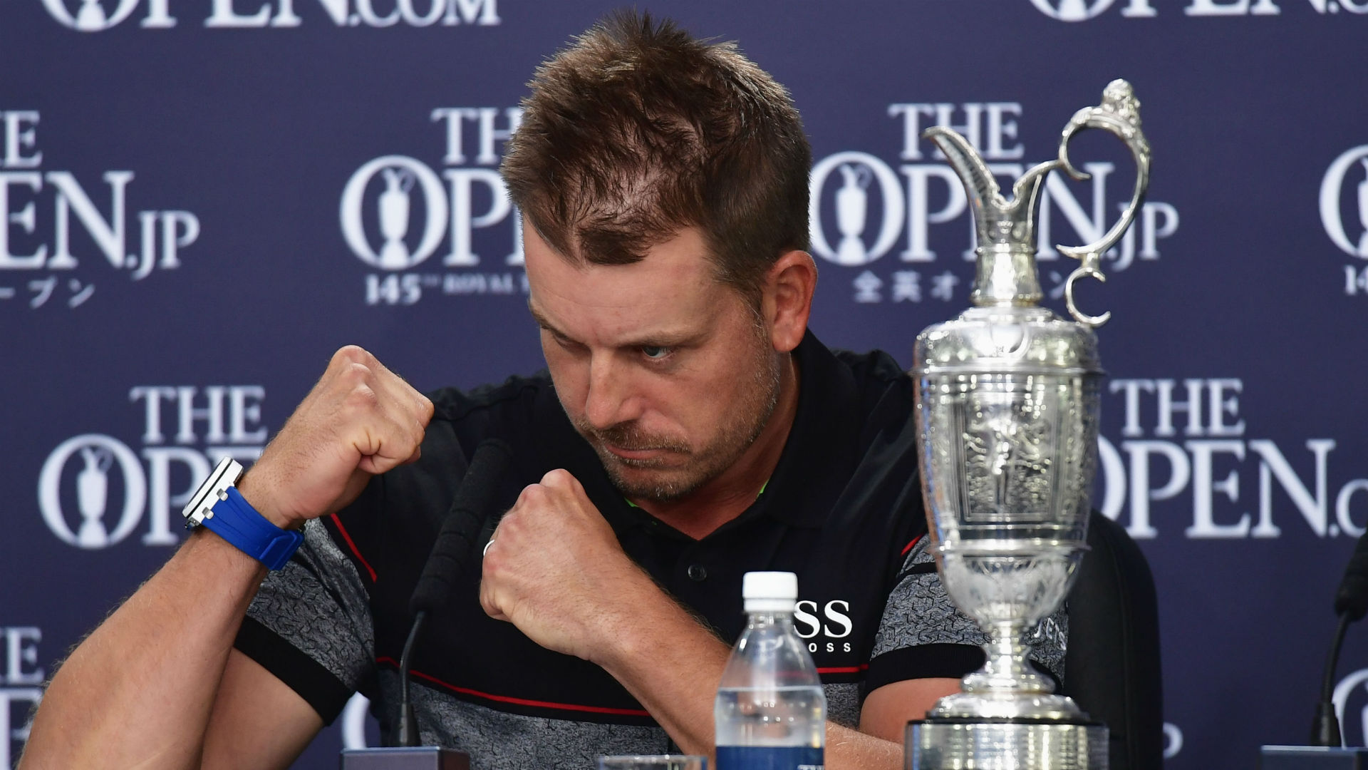 Stenson wins Open with record score