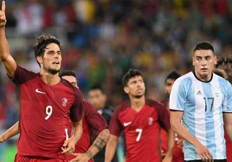 Olympics: Portugal tops Argentina