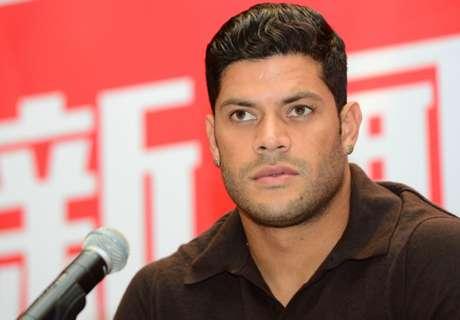 Hulk injured on goalscoring debut
