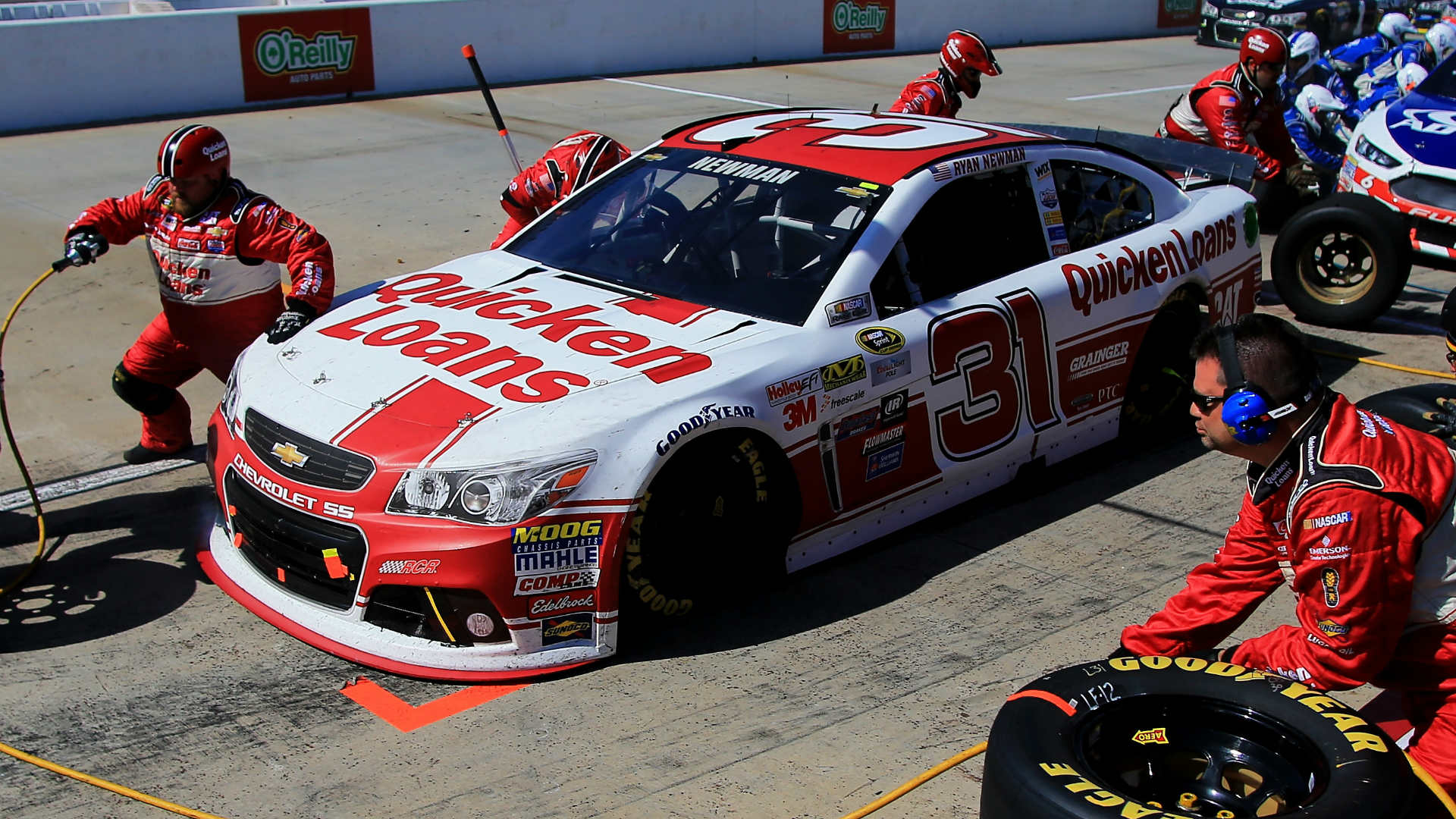 Ryan Newman's No. 31 Chevrolet