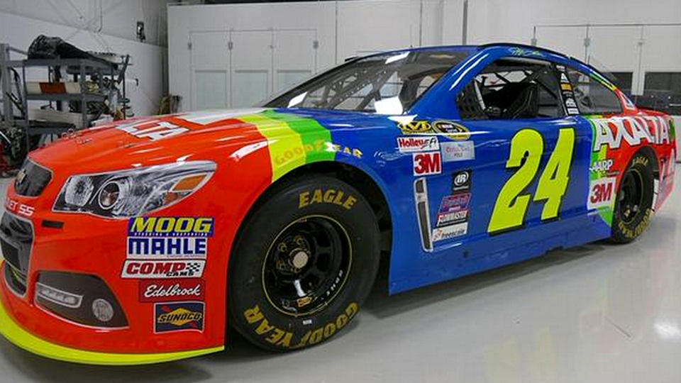 NASCAR at Bristol: Jeff Gordon's Rainbow Warriors return for final