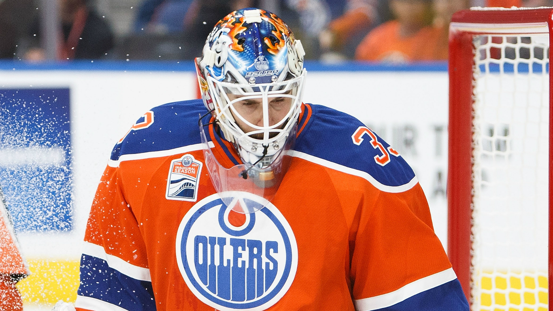 Oilers get younger at goalie in trading Cam Talbot to Flyers