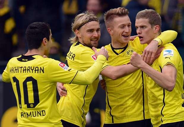 Jubelbilder sahen die Fans des BVB nach einem Spiel zuletzt selten