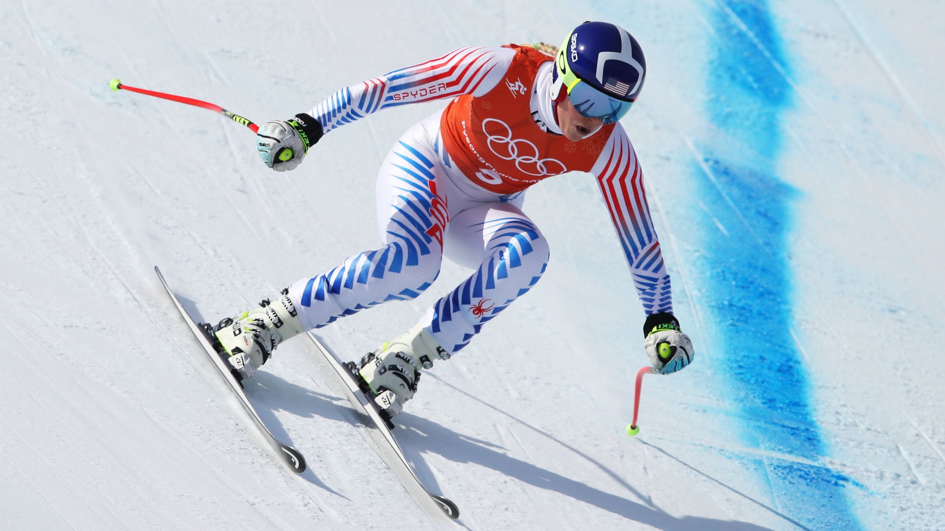 Women's downhill skiers win Olympic medals
