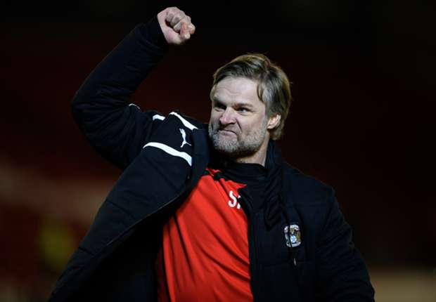 Coventry City boss Pressley gunning for Arsenal shock