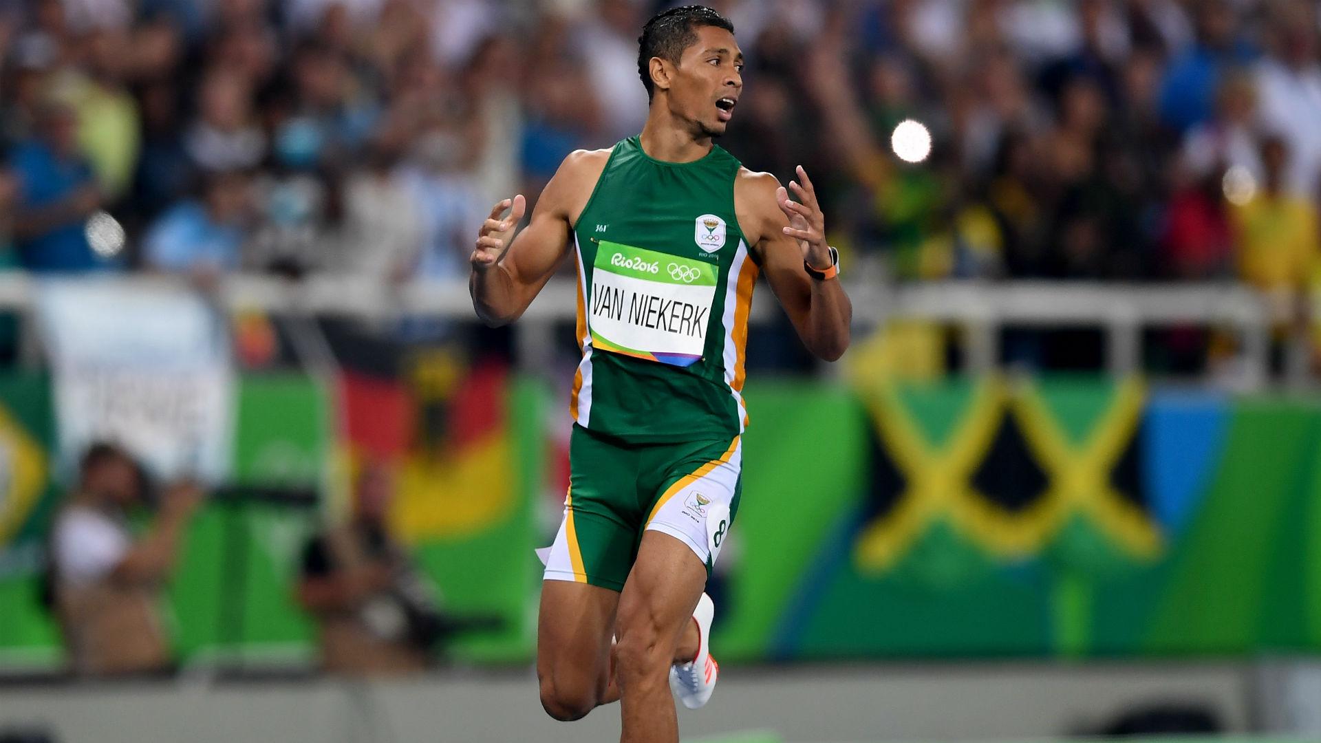 Other wayde van niekerk wins 400m in wr time sportal - Dive recorder results ...