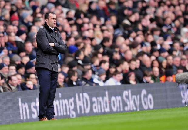 Martinez rues Everton lapse in Tottenham defeat