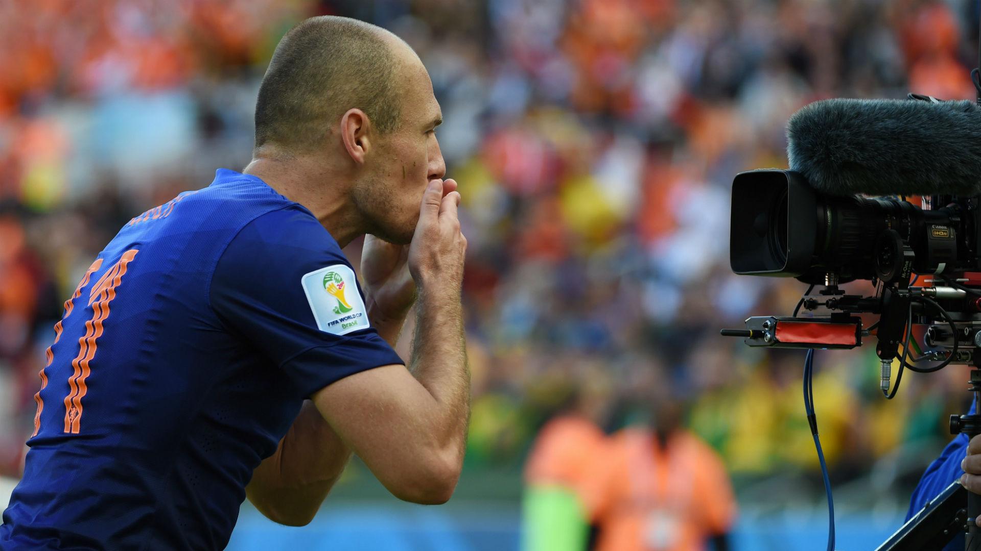 Arjen Robben in 2014 World Cup