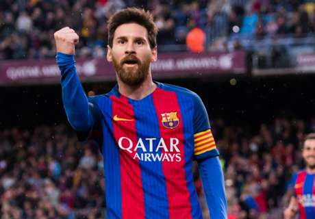 Barcelona express Messi support