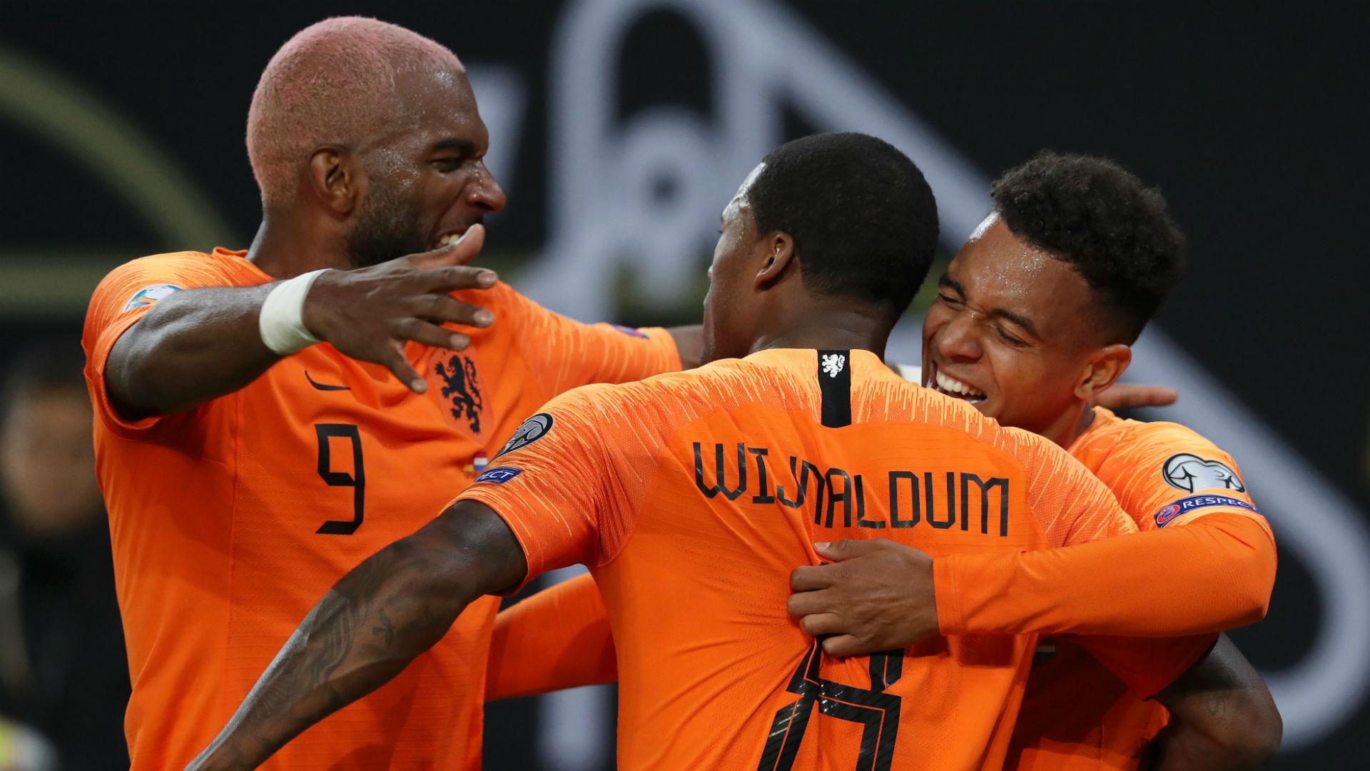 Estonia 0-4 Netherlands: Babel brace helps Oranje keep pressure on top two