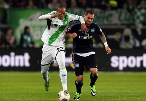 HSV remiseert op bezoek bij Wolfsburg