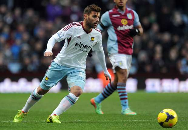 West Ham loanee Nocerino eager to stay in England