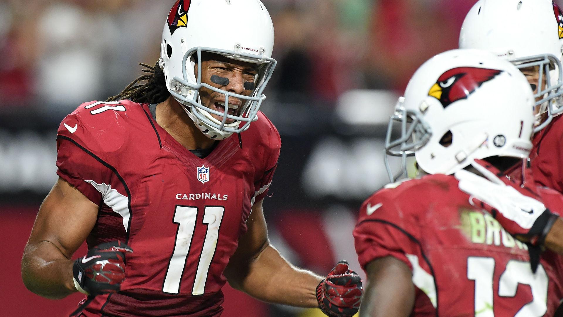 Cardinals receiver Larry Fitzgerald