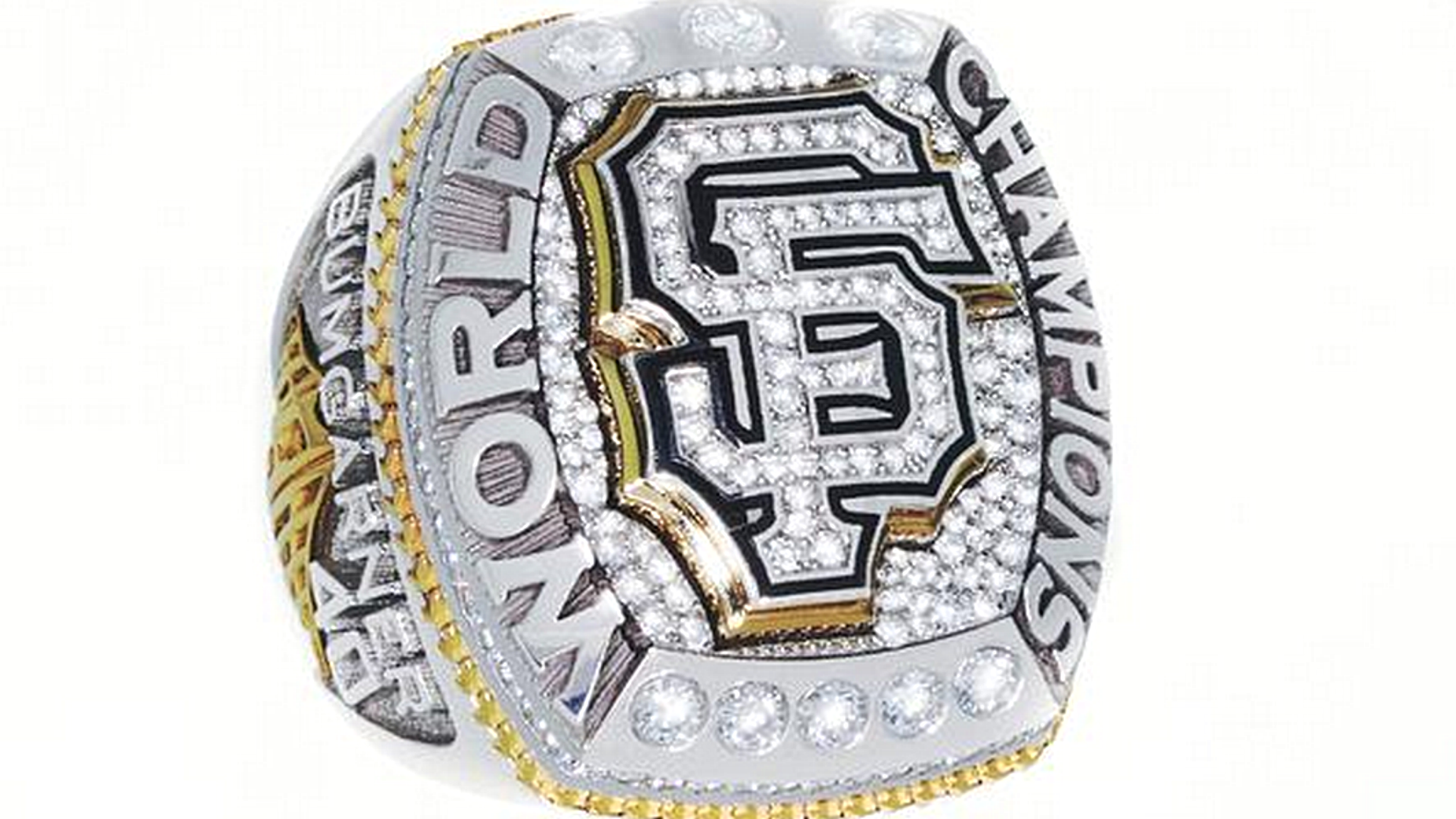 Giants receive their 2014 World Series rings