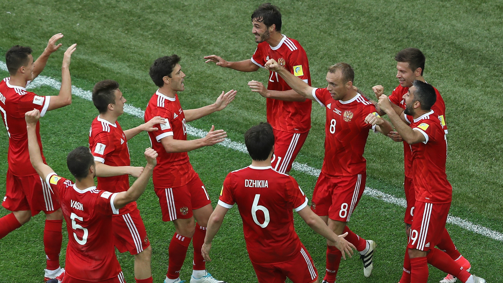 Confederations Cup - Russia start with victory