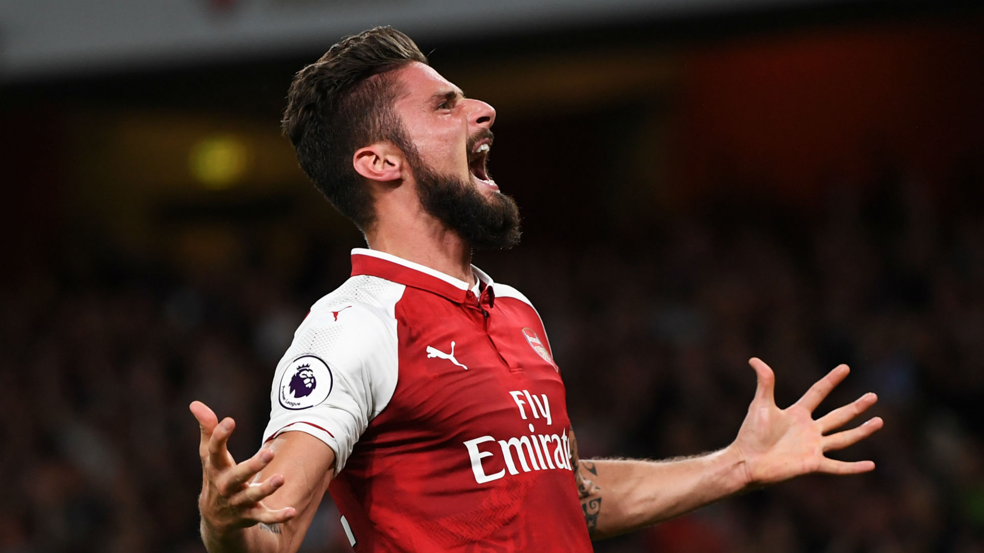 Super-sub Giroud settles thrilling Premier League opener for Arsenal
