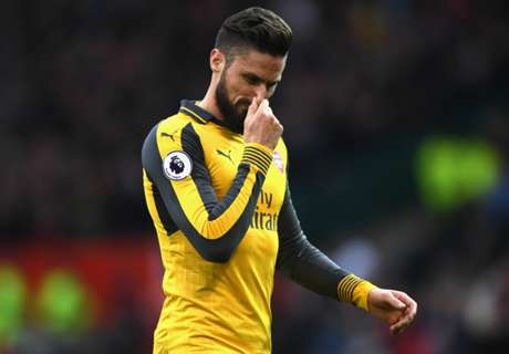 Wenger confirms Giroud ankle injury