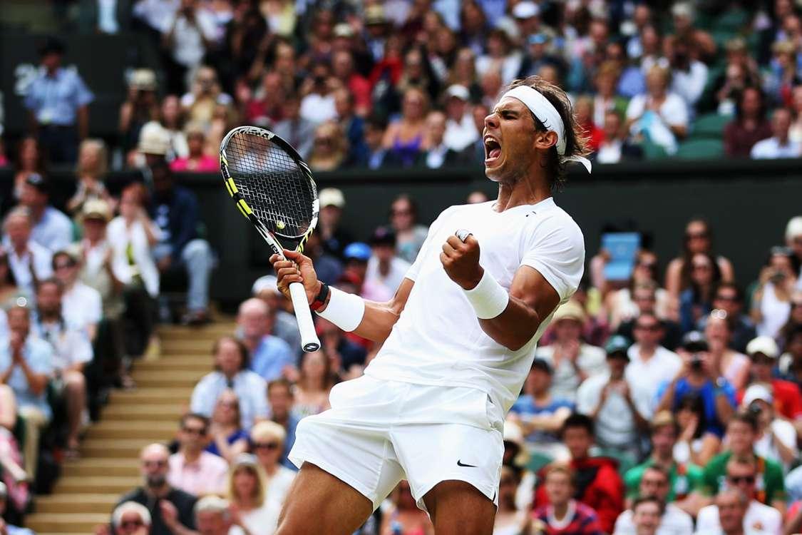 Nadal sees off Rosol as Federer cruises through