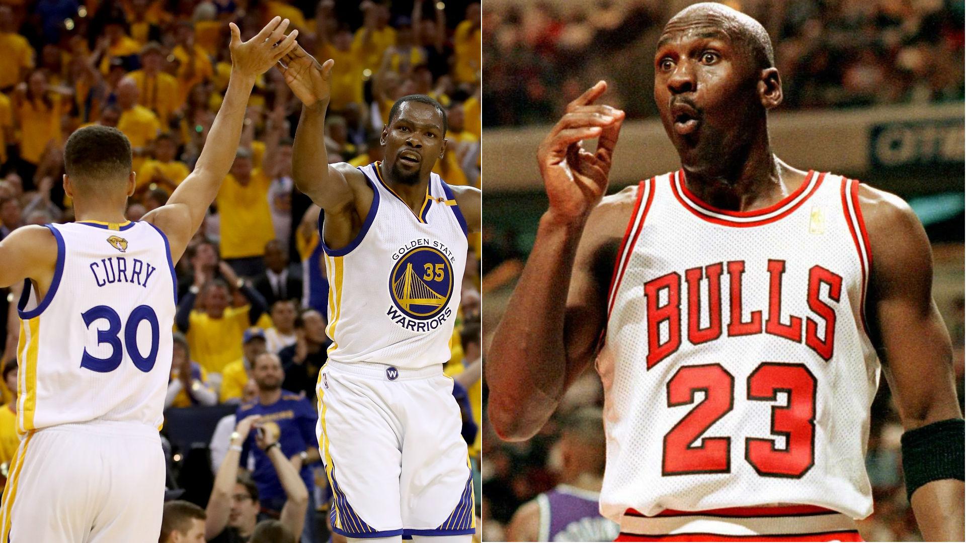 Vegas oddsmakers picking 2017 Warriors over Michael Jordan's 1996 Bulls | NBA | Sporting News