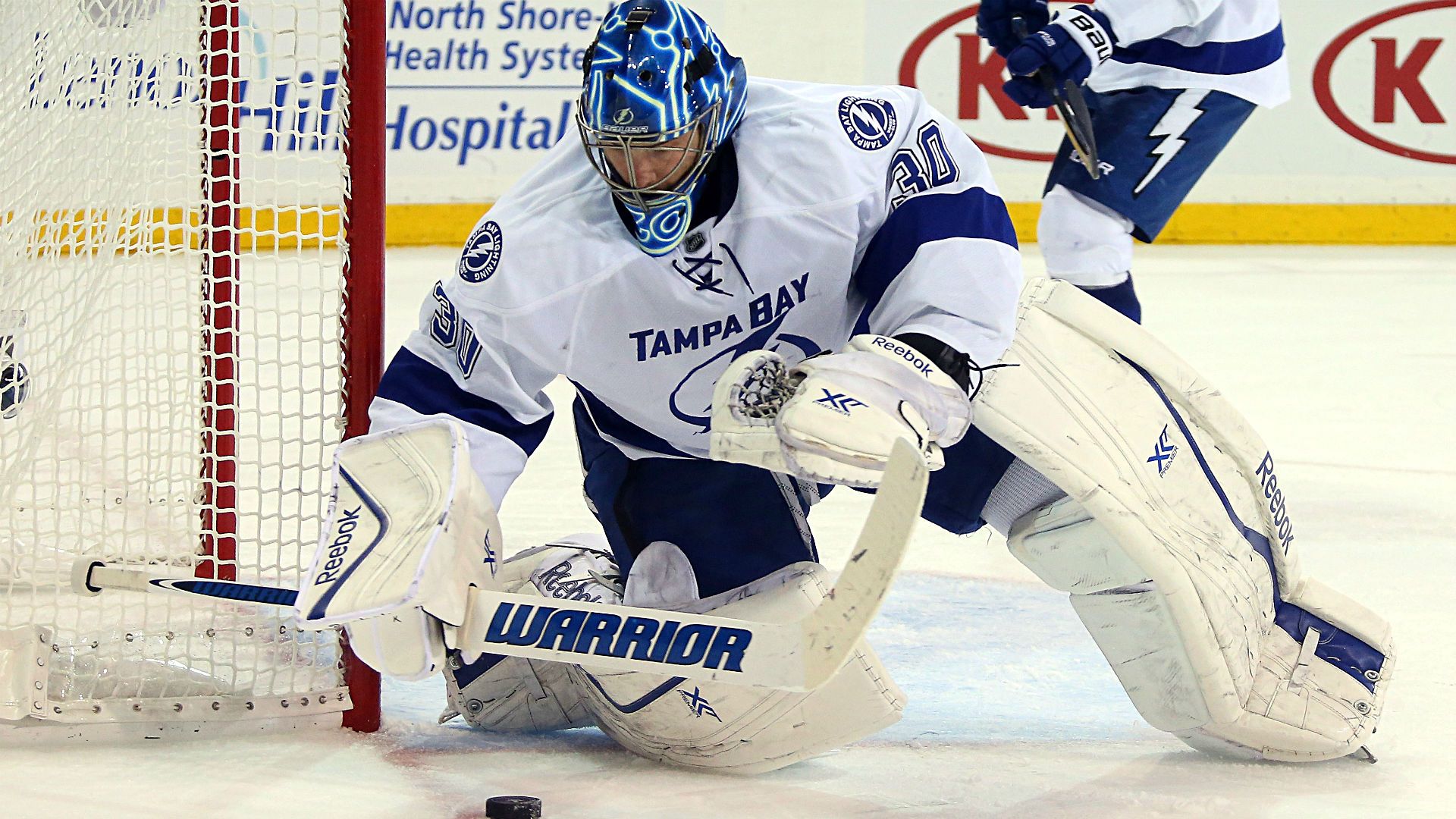 Eastern Conference finals: Bishop shuts out Rangers again to give Lightning Game 7 win