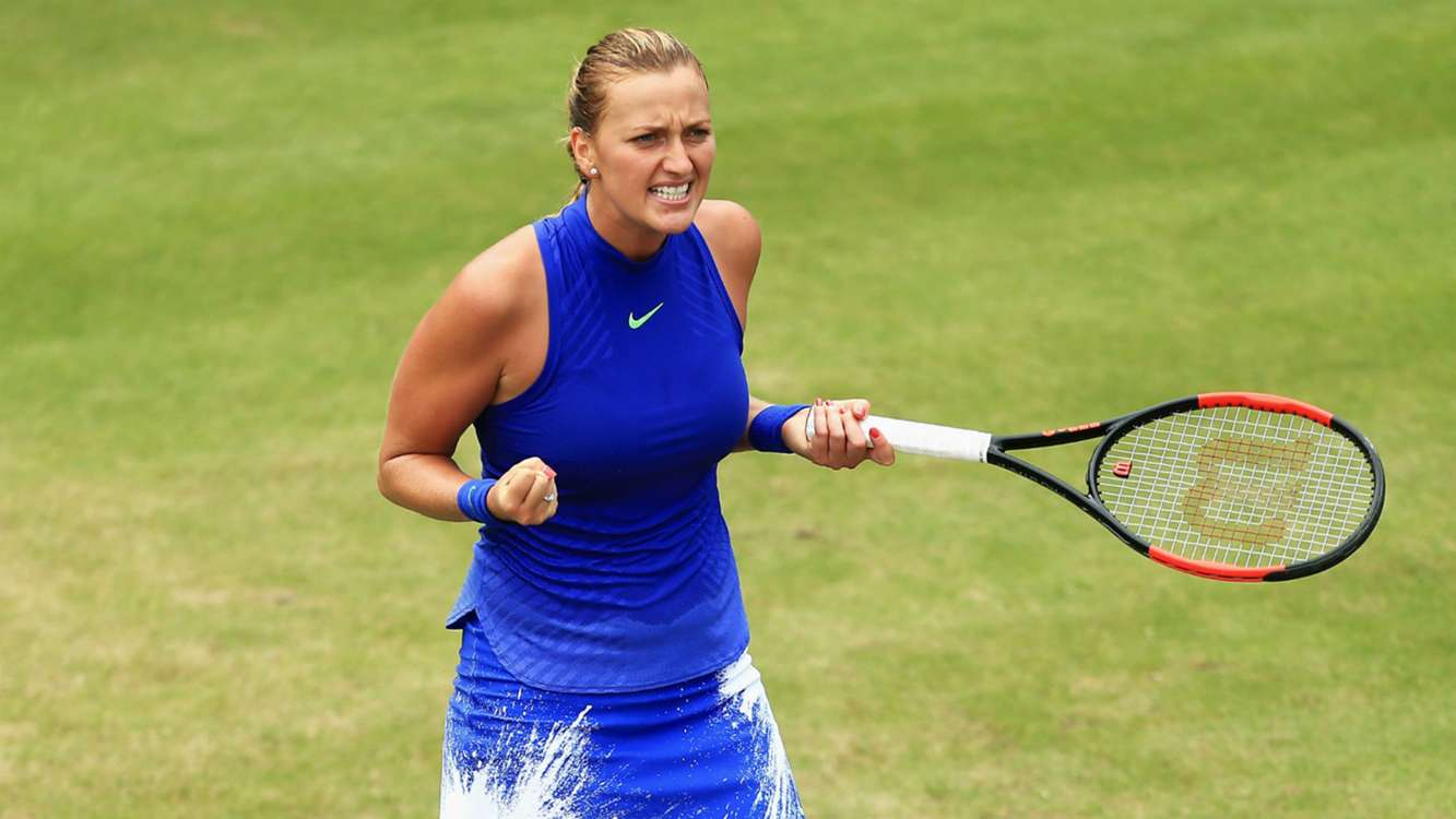 Barty beaten as Kvitova wins first title since knife attack