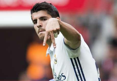 'Madrid, United yet to talk Morata'