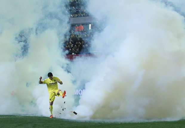 Villarreal face €4,000 fine for tear-gas incident