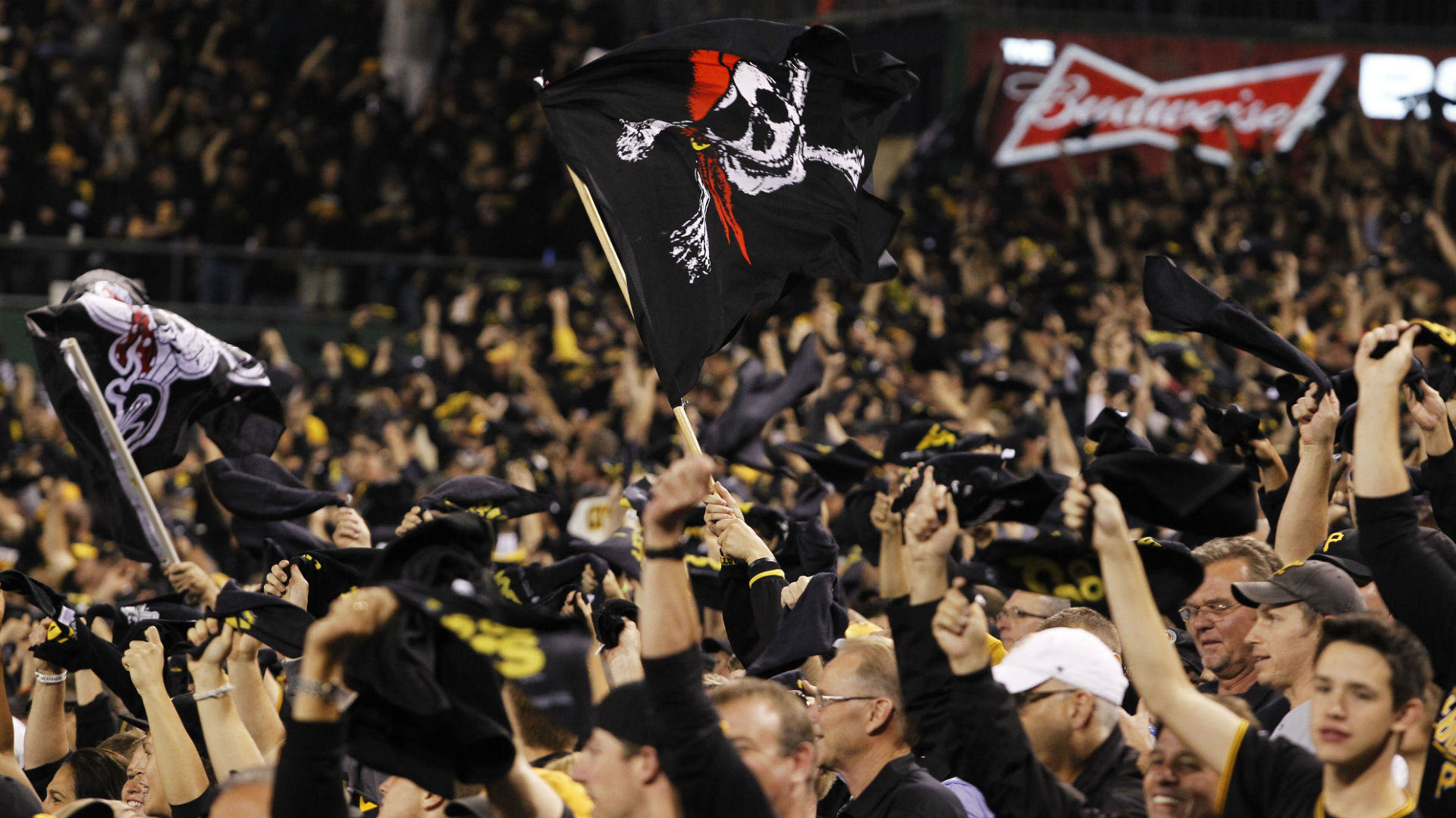 Pirates fans at 2014 wild-card game