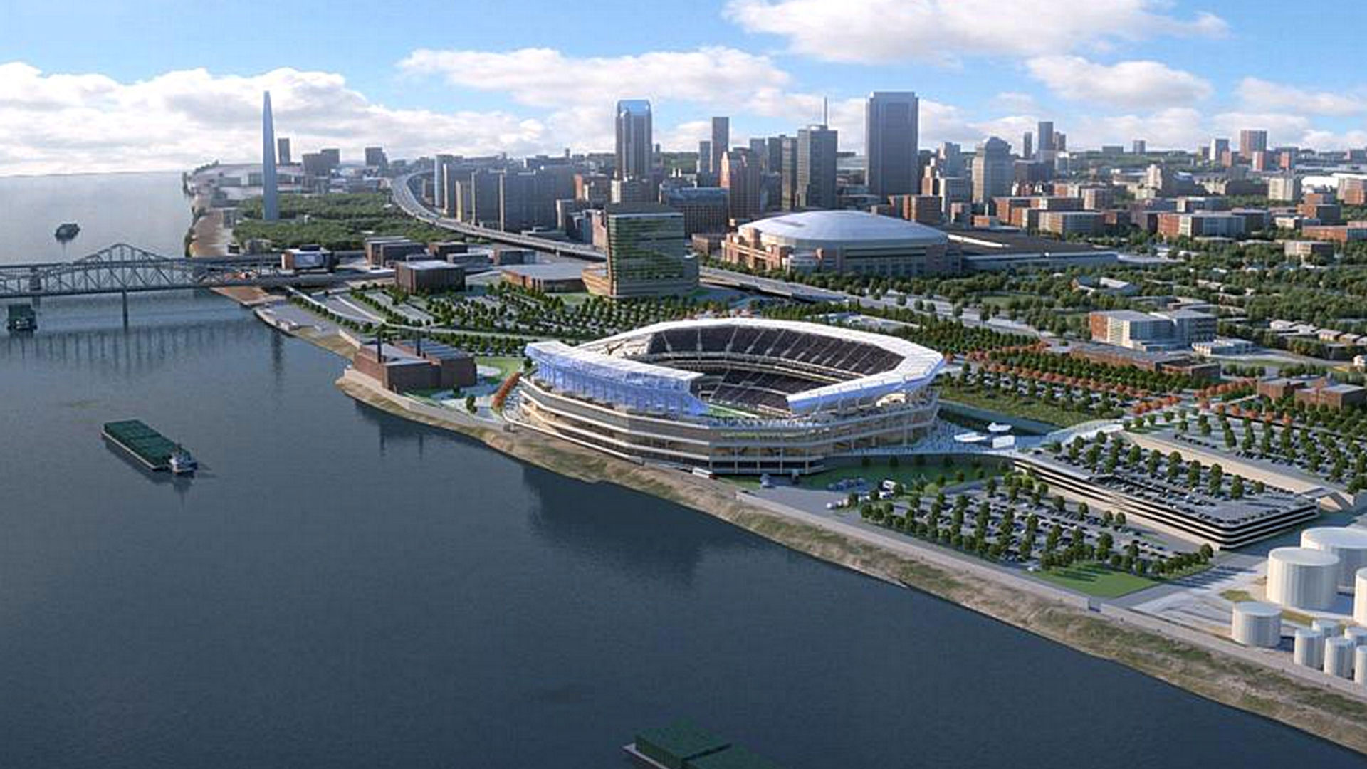 new nfl stadiums being built no voter approval needed to use st louis