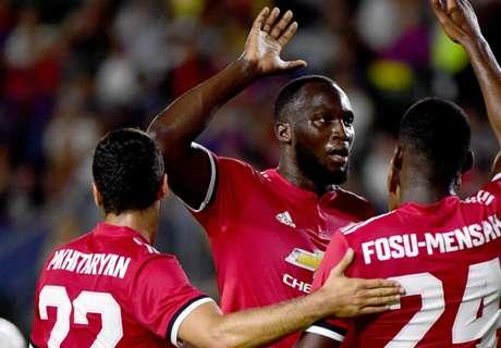 Lukaku revels in first United goal