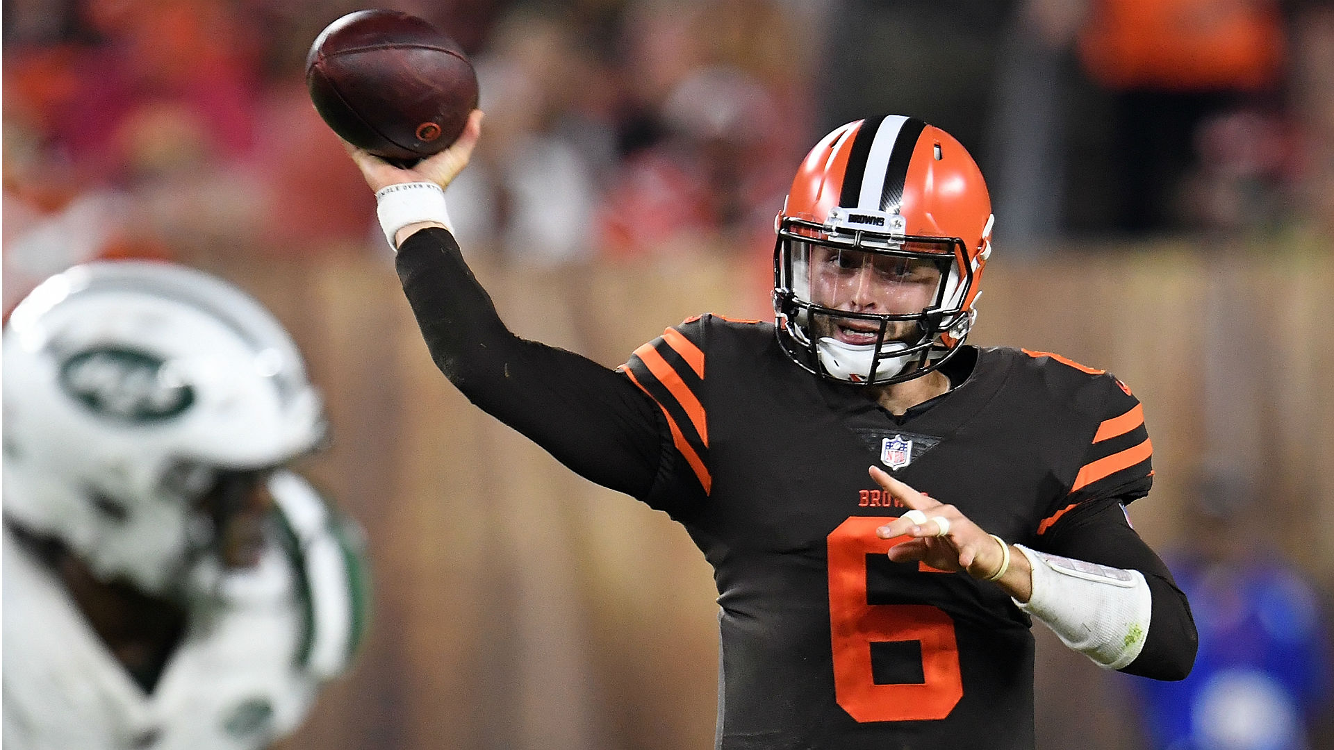 Baker Mayfield named NFL Rookie of Week