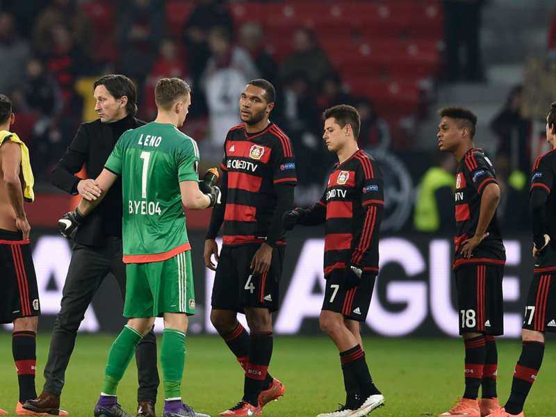 roger schmidt rues bayer leverkusen 39 s lack of composure. Black Bedroom Furniture Sets. Home Design Ideas