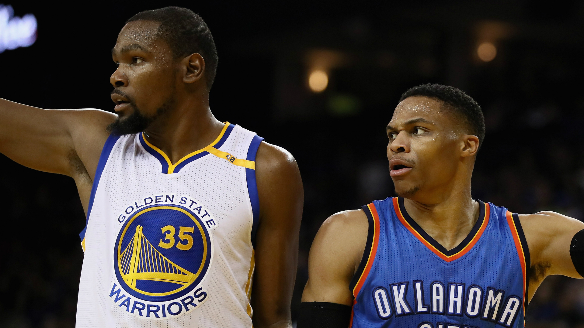 Stephen Curry, Russell Westbrook at center of Thunder-Warriors scuffle
