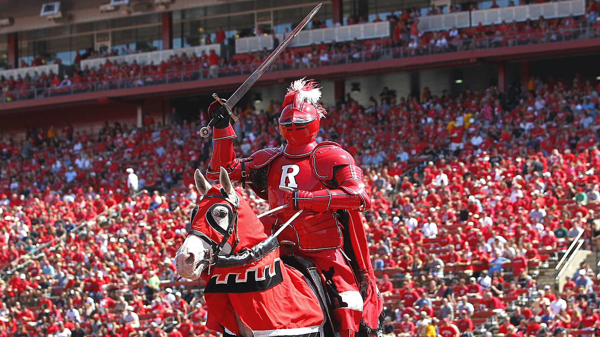 The NCAA has placed the Rutgers Scarlet Knights on probation