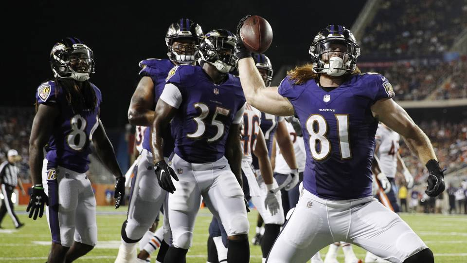 Three takeaways from the Ravens' Hall of Fame game win over the Bears