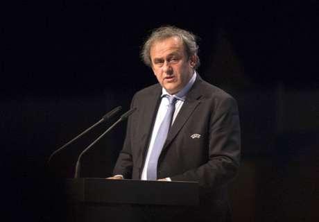 Platini, uno de los ganadores del día