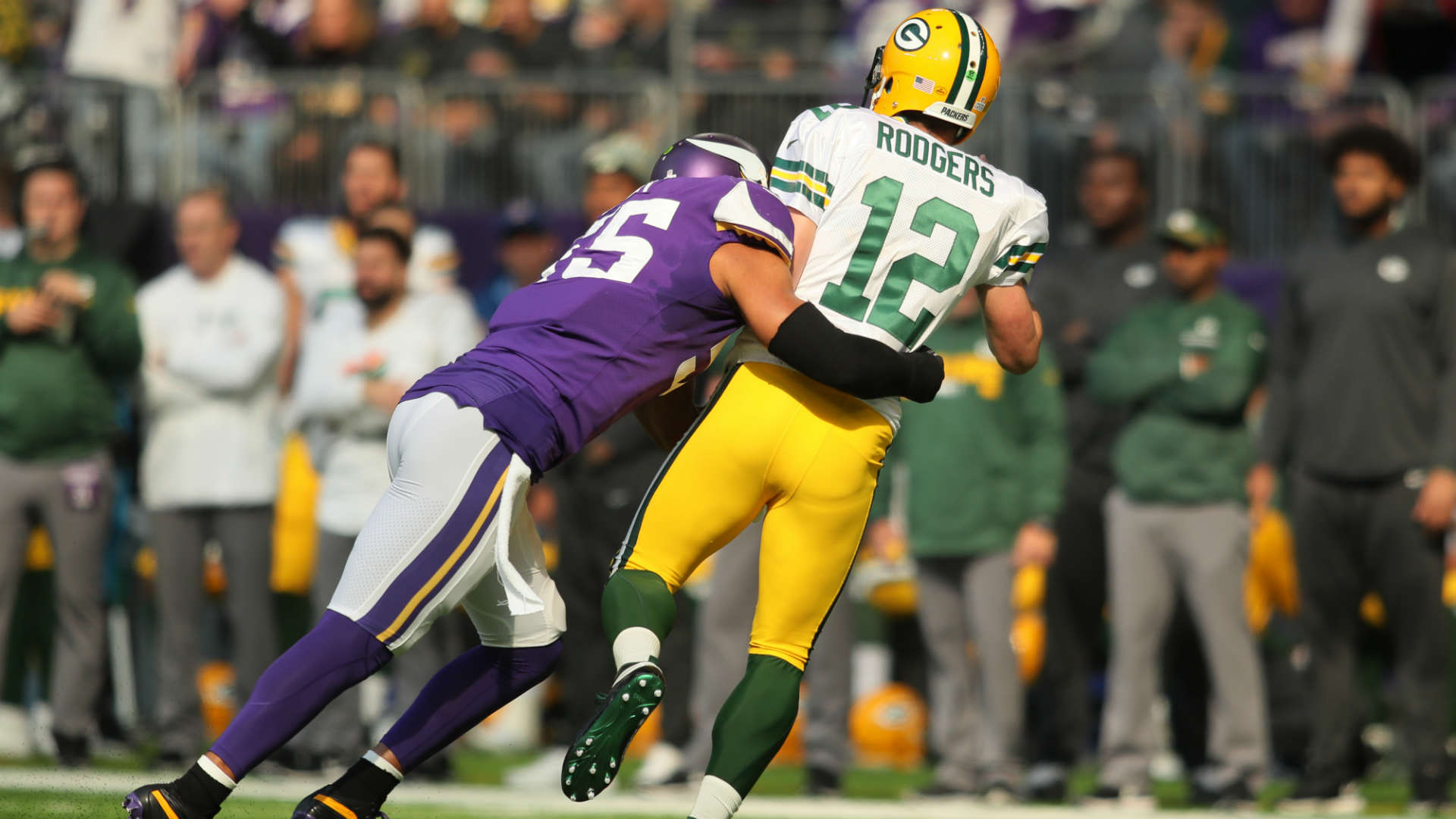 Anthony Barr Aaron Rodgers got y all fooled man